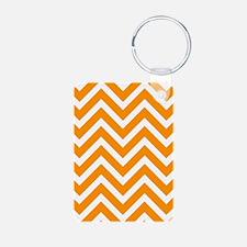 'Orange Zig Zag' Keychains
