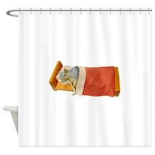 Sick Squirrel Shower Curtain