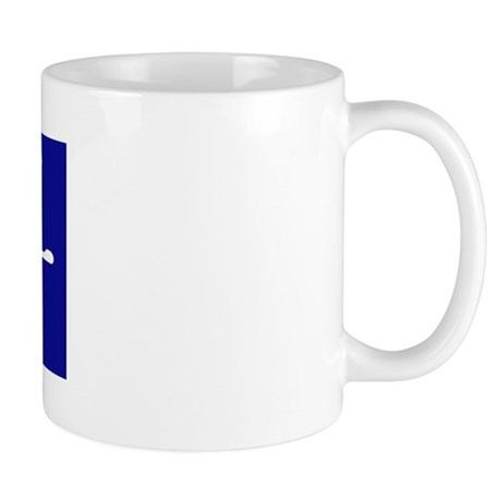 """Dad"" in Korean BLUE Mug"
