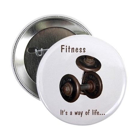 Fitness Button - Life
