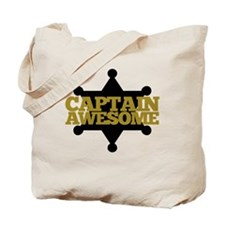 Captain Awesome Tote Bag