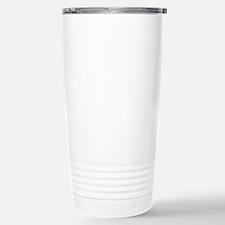 Alhambra Palace at Dusk Stainless Steel Travel Mug