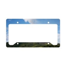 Arenal Volcano In Costa Rica License Plate Holder
