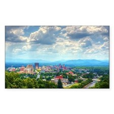 Asheville, North Carolina skyl Decal