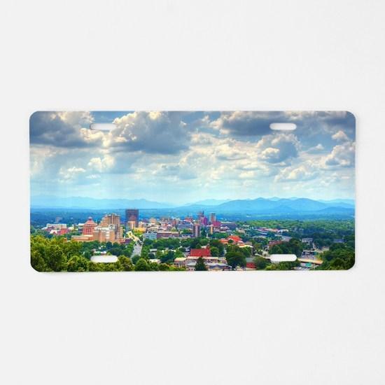 Asheville, North Carolina s Aluminum License Plate