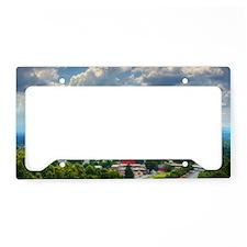 Asheville, North Carolina sky License Plate Holder