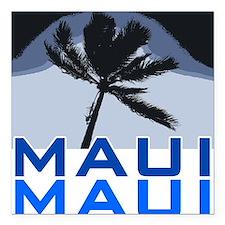 """Maui Square Car Magnet 3"""" x 3"""""""