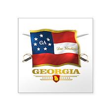 Georgia -Deo Vindice Sticker