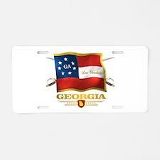 Georgia -Deo Vindice Aluminum License Plate