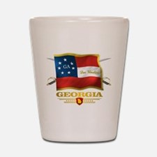 Georgia -Deo Vindice Shot Glass
