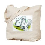 Sultan Bantam Chickens Tote Bag
