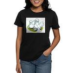 Sultan Bantam Chickens Women's Dark T-Shirt