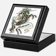 Anderson Unicorn Keepsake Box