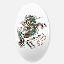 Anderson Unicorn Sticker (Oval)