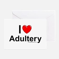 Adultery Greeting Card