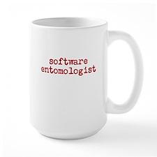 software entomologist - light Mug