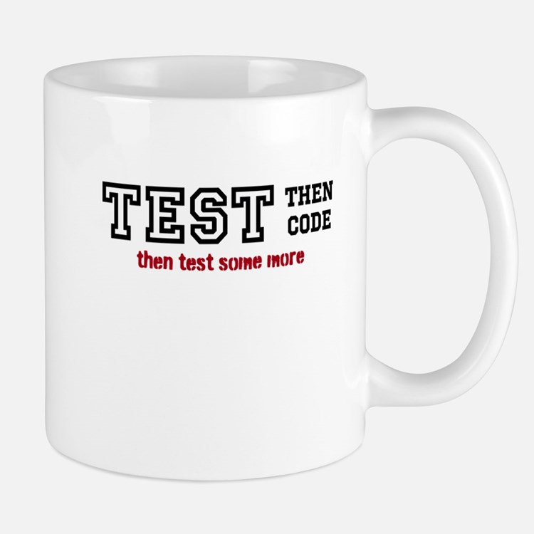 test then code Mug