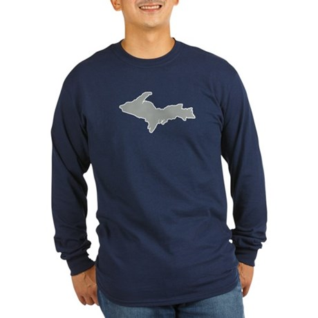 Upper Peninsula Long Sleeve Dark T-Shirt