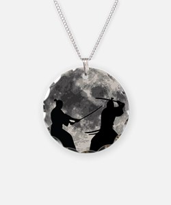 Samurai Moon Necklace