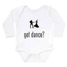 Dancing Long Sleeve Infant Bodysuit