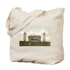 Chatham Twin Lights C.1910 Beach Bag