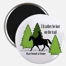 Lost On The Trail Magnet
