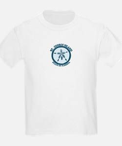 St. George Island - Sand Dollar Design. T-Shirt