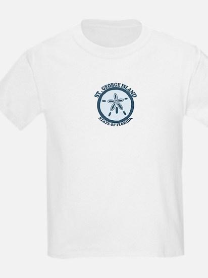 St. George Island - Sand Dollar Design. T-Shirt