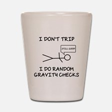 Gravity Check (Lt) Shot Glass