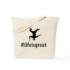Breakdance Tote Bag