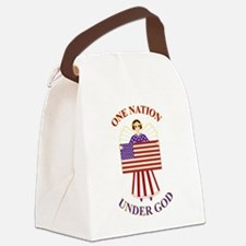 One Nation Canvas Lunch Bag