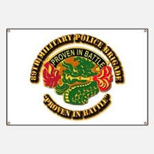 Army - DUI - 89th Military Police Brigade Banner