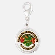 Army - DUI - 89th Military Police Brigade Silver R