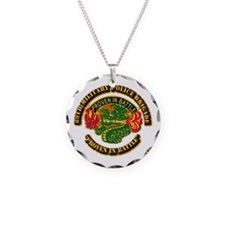 Army - DUI - 89th Military Police Brigade Necklace