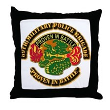 Army - DUI - 89th Military Police Brigade Throw Pi