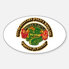Army - DUI - 89th Military Police Brigade Decal