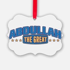 The Great Abdullah Ornament