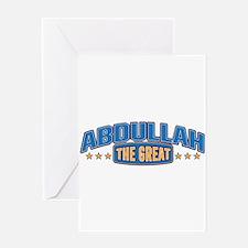 The Great Abdullah Greeting Card