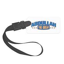 The Great Abdullah Luggage Tag