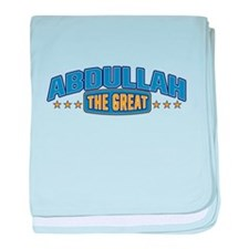 The Great Abdullah baby blanket