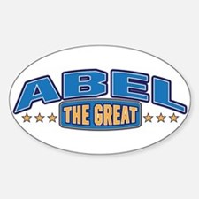 The Great Abel Decal