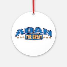The Great Adan Ornament (Round)