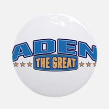 The Great Aden Ornament (Round)