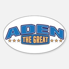 The Great Aden Decal