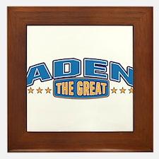 The Great Aden Framed Tile