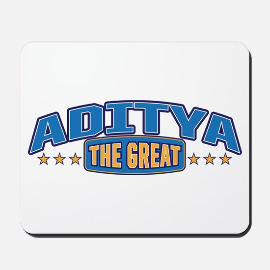 The Great Aditya Mousepad