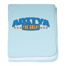 The Great Aditya baby blanket