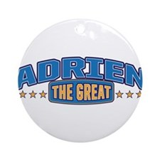 The Great Adrien Ornament (Round)