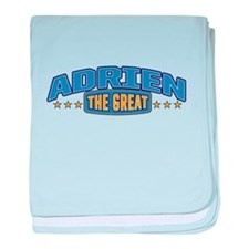 The Great Adrien baby blanket