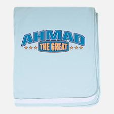 The Great Ahmad baby blanket